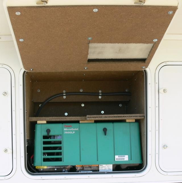 Onan Diesel Generator >> Generator Compartment Soundproofing