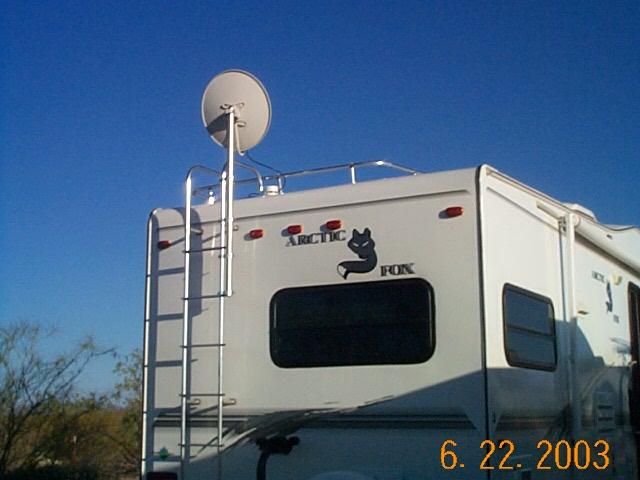 Ladder And Tripod Antenna Mount Options