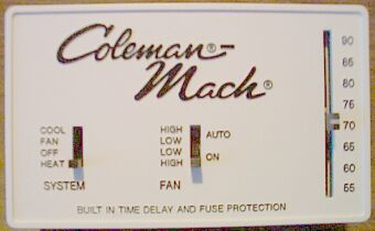 coleman mach install a hunter digital thermostat coleman mach thermostat wiring diagram at crackthecode.co